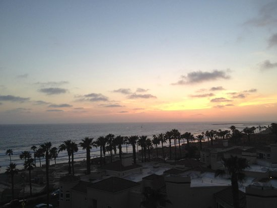 Wyndham Oceanside Pier Resort: View from the balcony