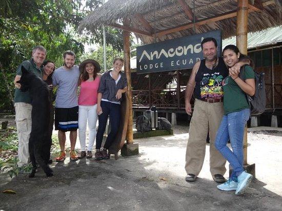 Anaconda Lodge Ecuador: Saying Good Bye to our Guest from Ecuador.