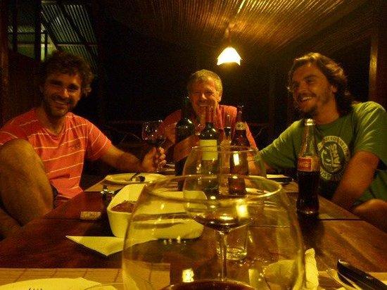 Anaconda Lodge Ecuador: Graet guest from Argentina!