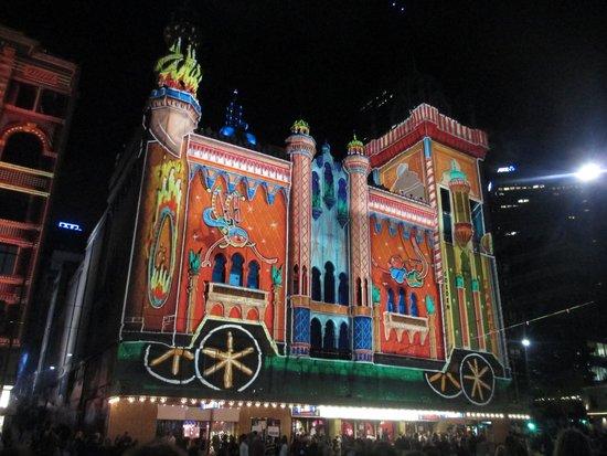 Forum Melbourne: Forum lit for White Night