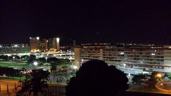 Hotel Nacional: Vista noturna de BSB