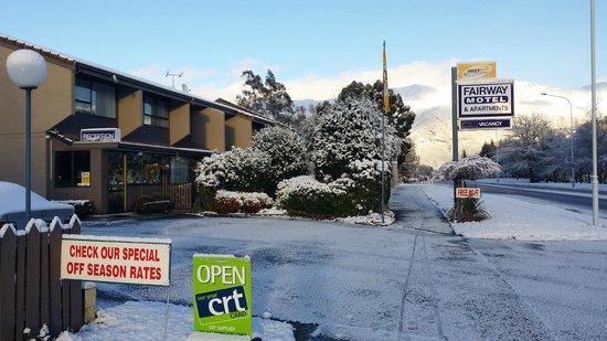 Fairway Motel: Winter is coming!