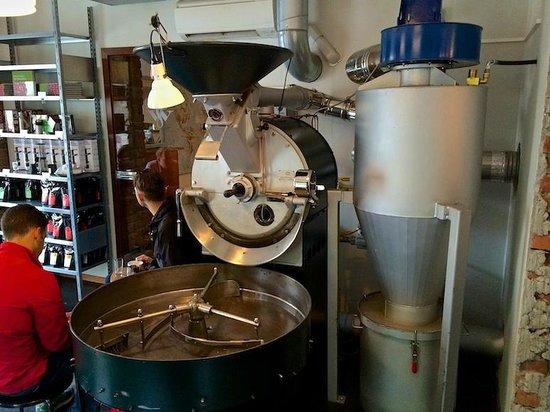 Tim Wendelboe: Coffee roaster