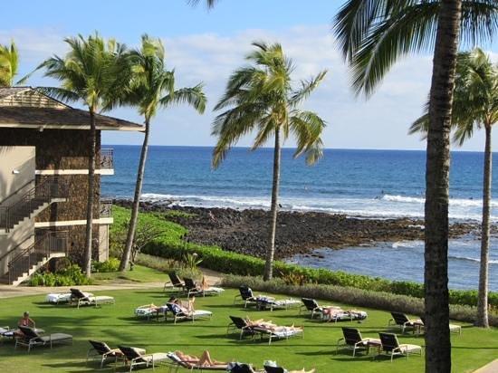 Koa Kea Hotel & Resort: partial ocean view room