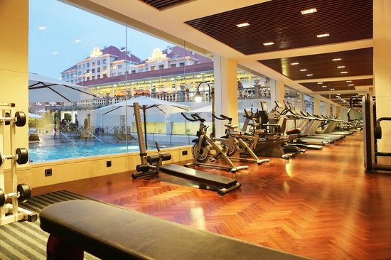 Seaview Garden Hotel: gym