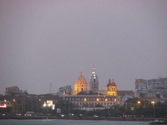 Decameron Cartagena : Vista de la ciudad amurallada desde la habitación