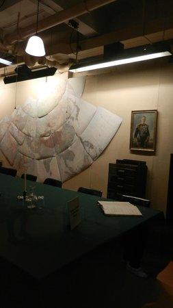Churchill War Rooms: maps