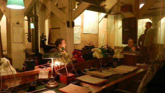Churchill War Rooms: room