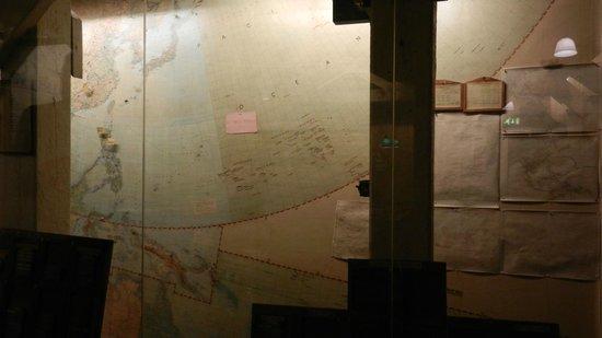 Churchill War Rooms: Map