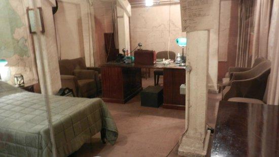 Churchill War Rooms: Churchill's bedroom