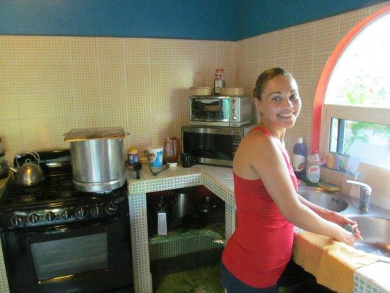 Casa Verde : Monica the cook