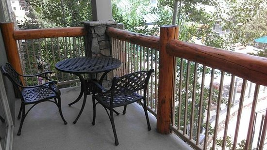 Westgate Park City Resort & Spa: balcony