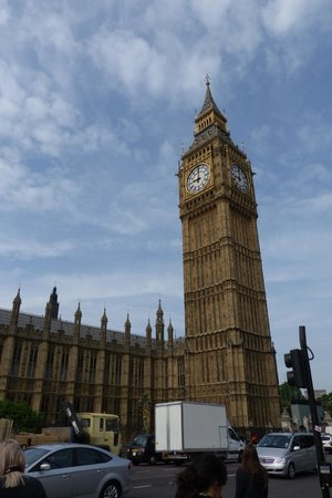 Big Ben (Torre del Reloj): Elizabeth Tower in Westminster