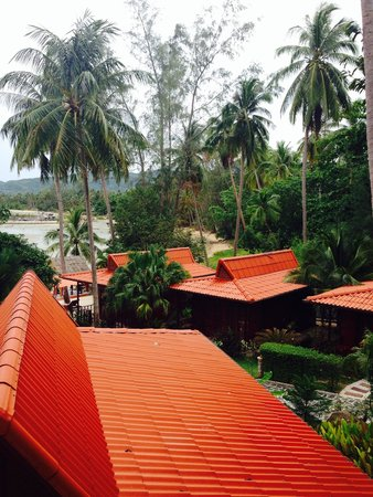 Cyana Beach Resort: View from our deluxe seabird bungalow
