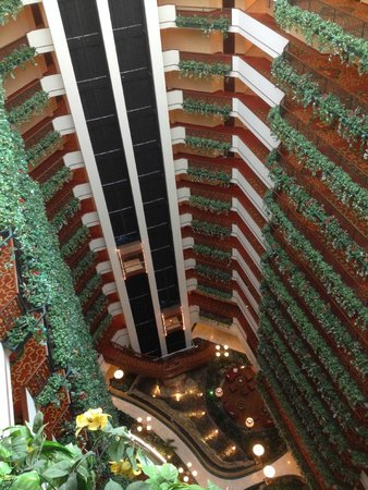 Renaissance Oklahoma City Convention Center Hotel: Look at lobby from top floor