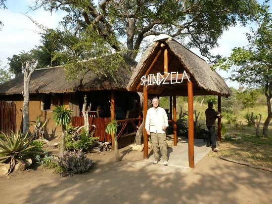 Shindzela Tented Safari Camp: Reception, bar, and dining