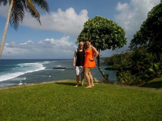 To Sua Ocean Trench: Tropical gardens