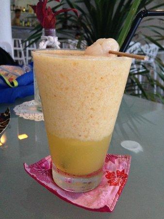 fatCUPID: lemongrass lychee drink