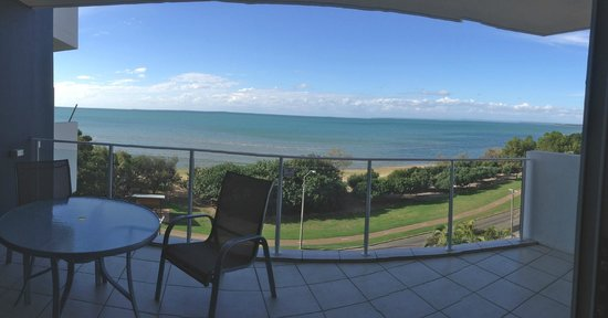 Tingeera Luxury Beachfront Apartments: The view