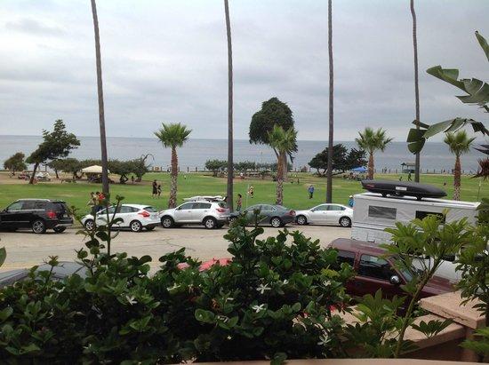 La Valencia Hotel : View from villa