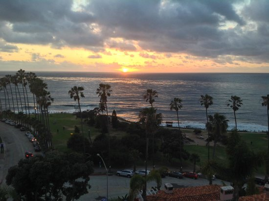 La Valencia Hotel: Sunset