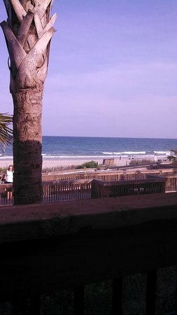 LandShark Bar & Grill Myrtle Beach : The view from outdoor seating
