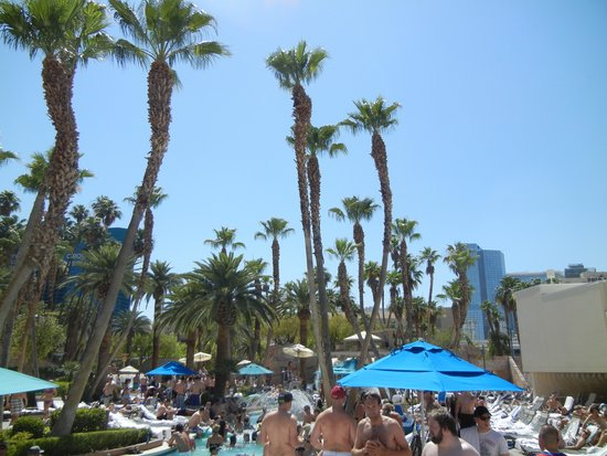 MGM Grand Hotel and Casino: lazy river area