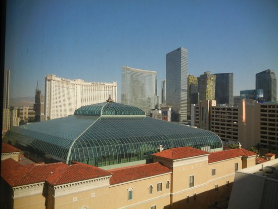 MGM Grand Hotel and Casino : our view from the 13th floor