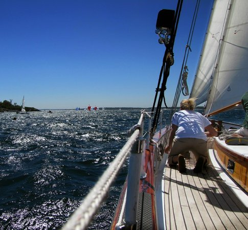 Sailing Excursions Adirondack II : A beautiful view.