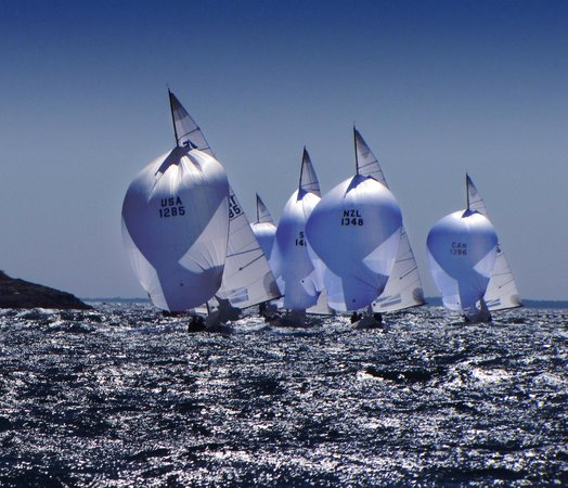 Sailing Excursions Adirondack II : More Etchells. Their world championship race will take place in Newport this year.