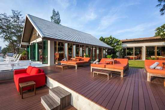 Let's Sea Hua Hin Al Fresco Resort: Bar & Relaxing Terrace