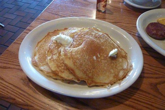 Cracker Barrel: Pancakes (delicious!)