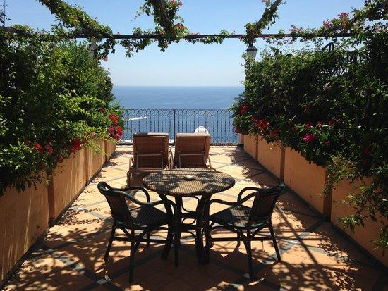 Albergo Punta Regina: Room 25 Terrace