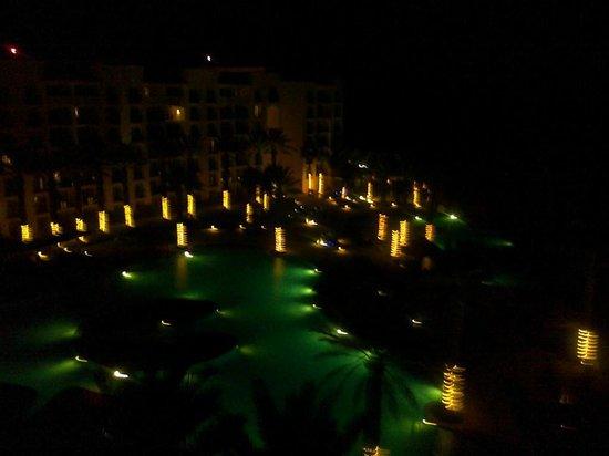 Hyatt Ziva Los Cabos : In the night.