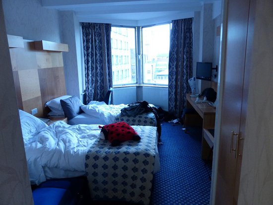 Imperial Hotel: Twin room
