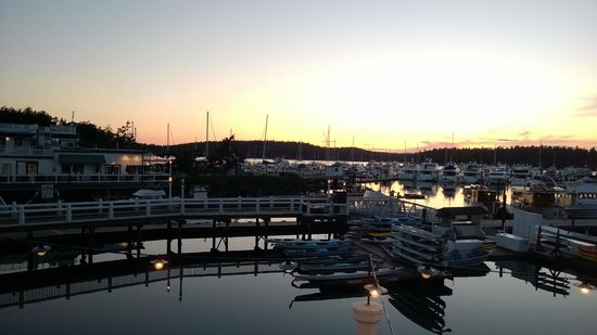 Roche Harbor Resort : Sunset