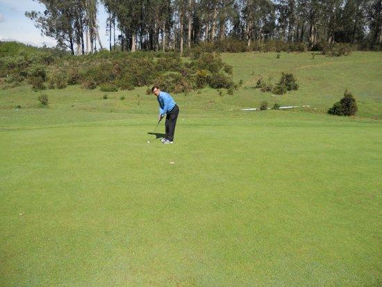 Ootacamund Gymkhana Golf Club: Greens are less undulating, medium fast.