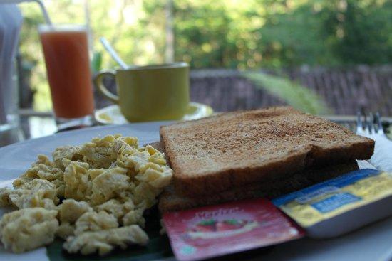 DD Ubud Villa: Breakfast
