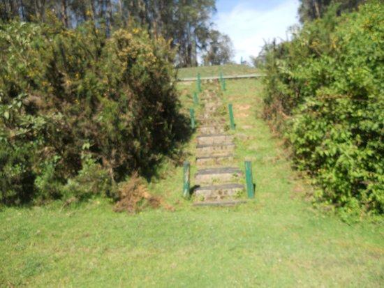 Ootacamund Gymkhana Golf Club: steps