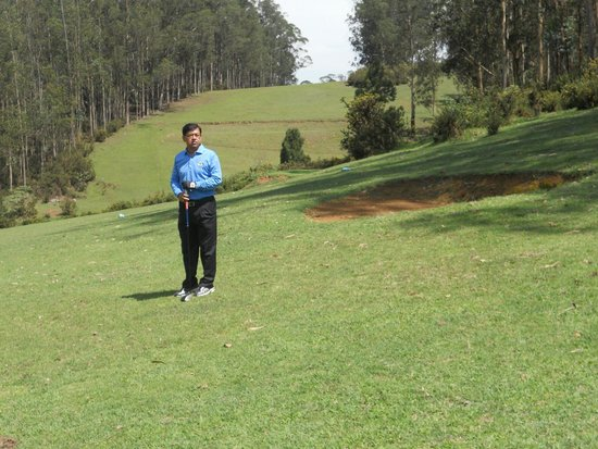 Ootacamund Gymkhana Golf Club: Enjoying the round.