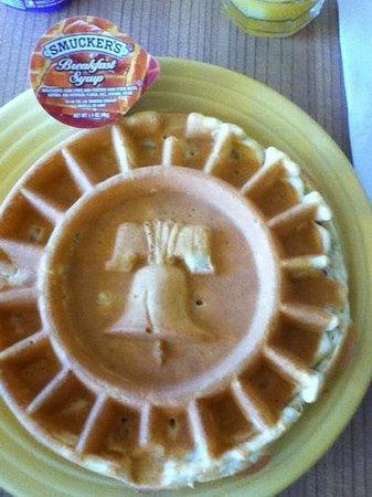Homewood Suites University City: waffle
