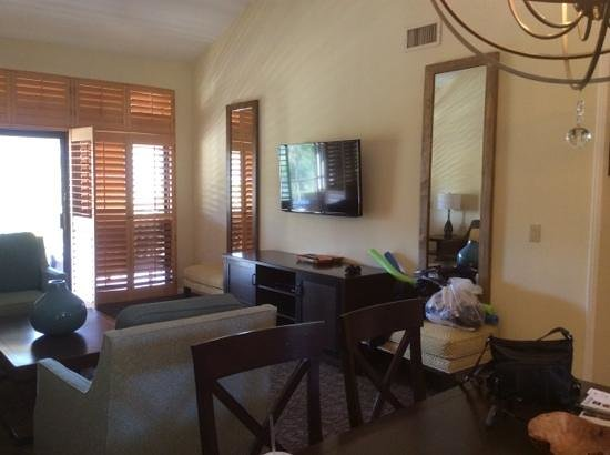 Welk Resort San Diego : Living Room