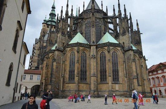 Château de Prague : プラハ城1
