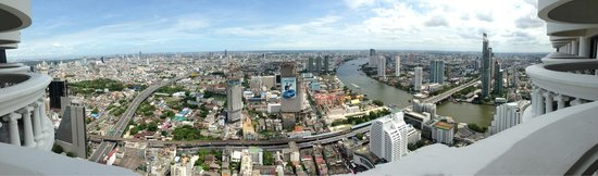 Tower Club at Lebua: The view