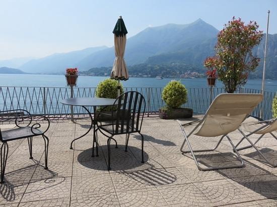 Hotel Metropole Bellagio: terrace room, absolutely breathtaking view