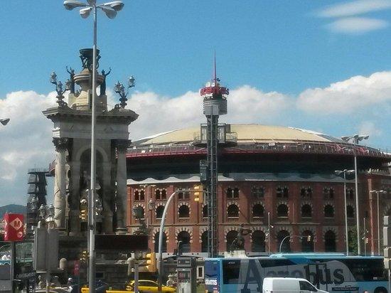 Plaza de España (Plaça d'Espanya): Spain 2014 .allani hasen.