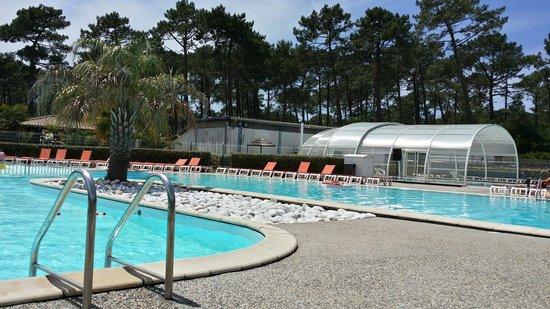Camping Airotel Les Viviers: Très belle piscine