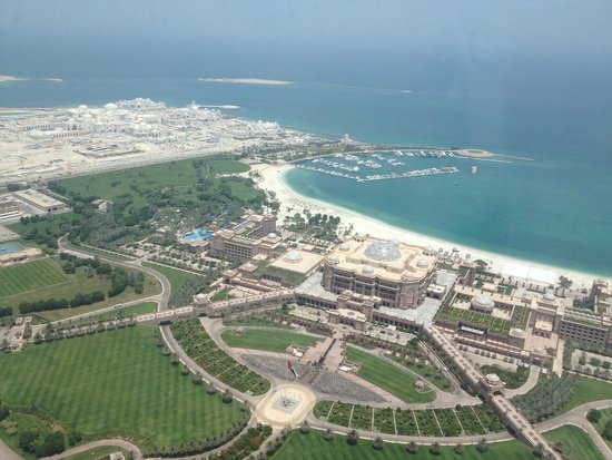 Observation Deck at 300: view of the iconic Emirates Palace