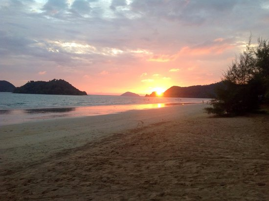 Kham Nature Resort Koh Mak: Sunset