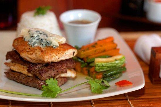 Les Trois Metis : Le restaurant